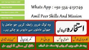 Amil Peer Skills And Mission